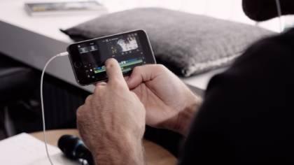 Schneiden mit dem Smartphone