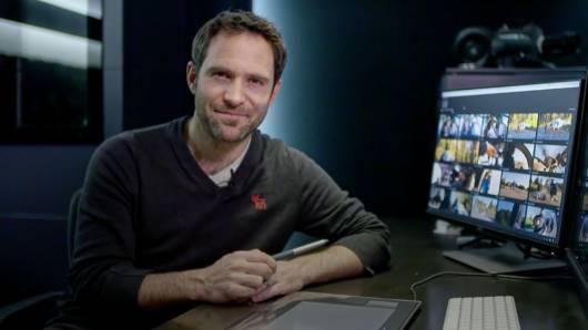 Roman Lehmann mit Premiere Pro