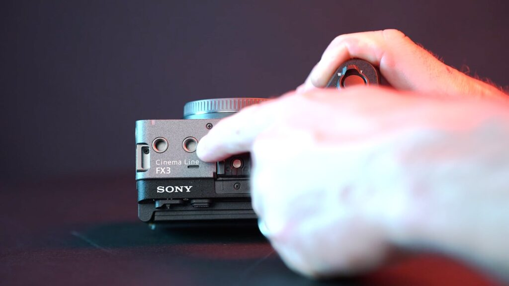 Sony FX3 1/4 Zoll Gewinde
